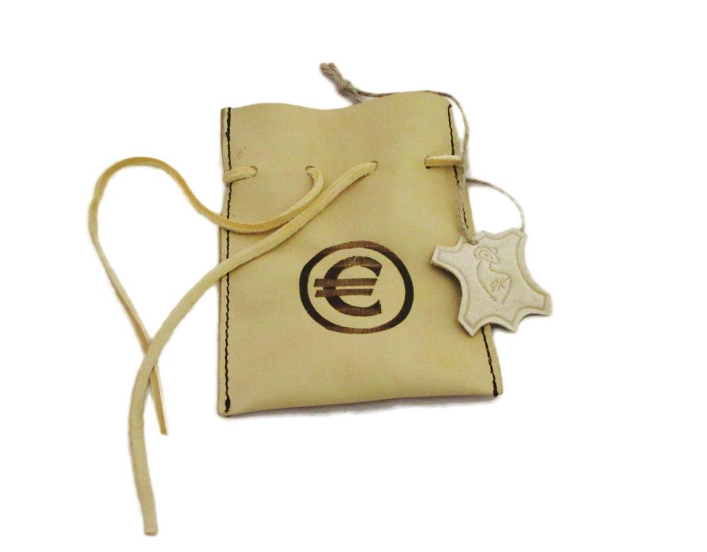 Měšec na mince euro
