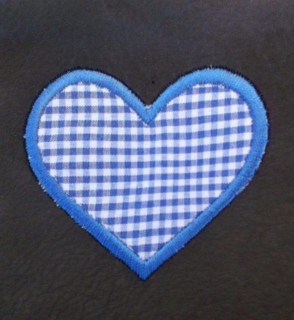 Výšivka srdce